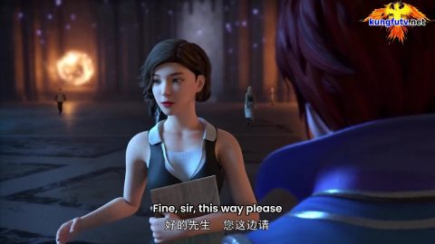 Wan Jie Fa Shen – God of All Realms – God of All World ( chinese anime   donghua 2021 ) episode 08 english sub